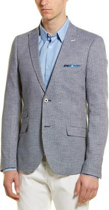 Paisley & Gray Smithfield Linen-Blend Slim Fit Blazer
