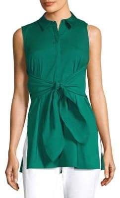 Lafayette 148 New York Mariel Sleeveless Blouse