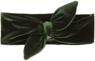 Lafayette HOUSE OF Knotted-bow velvet headband