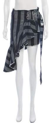 Marques Almeida Marques' Almeida Asymmetrical Denim Skirt