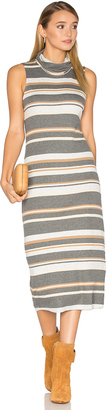 Michael Stars Sleeveless Cowl Neck Midi Dress $98 thestylecure.com