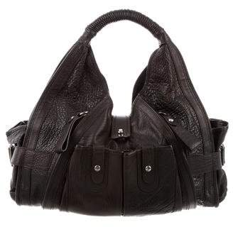 CNC Costume National Leather Shoulder Bag