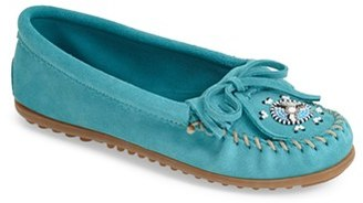 Women's Minnetonka 'Me To We Artisans - Maasai' Moccasin $49.95 thestylecure.com