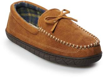 Dockers Men's Core Boater Moccasin Slippers