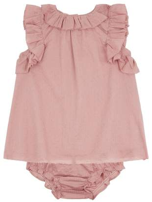 Burberry Ruffled Cotton Dress