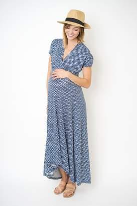 Nom Maternity Hi-Low Nursing Dress
