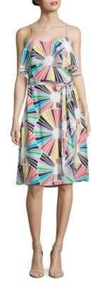 Trina Turk Haute Havana Isabel Silk Dress