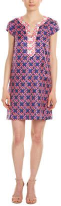 Julie Brown Silk Tunic Dress