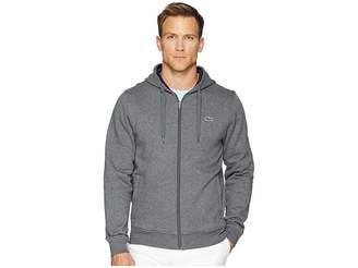 Lacoste Full Zip Hoodie Fleece Sweatshirt