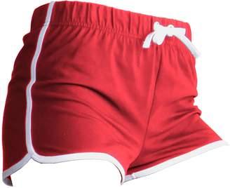 Skinni Fit Womens/Ladies Retro Training / Fitness Sports Shorts (M)