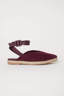 H&M Espadrilles with Ankle Strap - Red