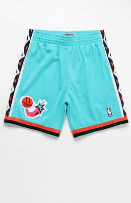 Mitchell & Ness 1993 All-Star E&W Basketball Shorts