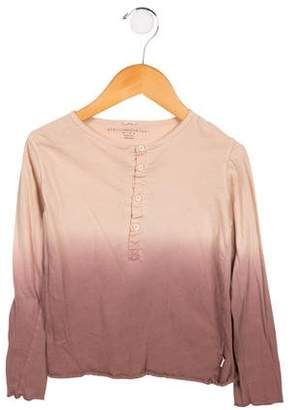 Stella McCartney Girls' Ombré Long Sleeve Top