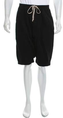 Rick Owens Cropped Sweat Shorts