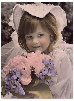 "Sharon Forbes 'Princess Bride' Canvas Art - 35"" x 47"""