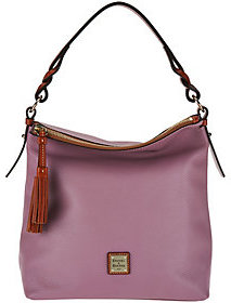Dooney & Bourke Pebble Leather Small Sloan Hobo $189 thestylecure.com