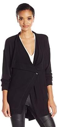 Michael Stars Women's Super Soft Madison Brushed Jersey Coat