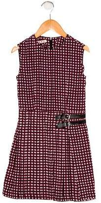 Marni Girls' Pleated Printed Dress