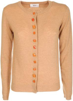 Jucca Crystal Button Cardigan