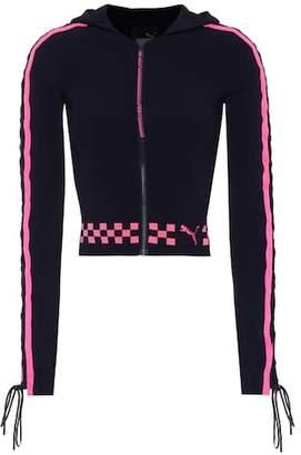 Fenty by Rihanna Lace-up jacket