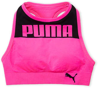 Puma Girls 7-16) High Neck Sports Bra