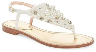 Kate Spade sama embellished thong sandal (Women)
