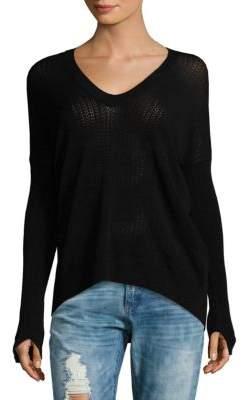Zadig & Voltaire Preppy High-Low Sweater