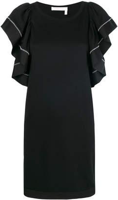 See by Chloe ruffle sleeved dress