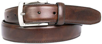 Asstd National Brand Dallas + Main Italian Leather Dress Belt