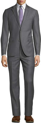 Neiman Marcus Men's Two-Piece Striped Suit