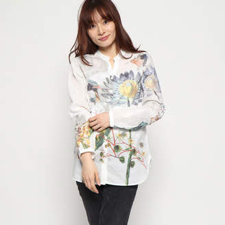 Desigual (デジグアル) - デシグアル Desigual WOMAN WOVEN SHIRT LONG SLEEVE