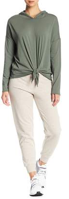 Donna Karan Embroidered Jogger Sweatpants