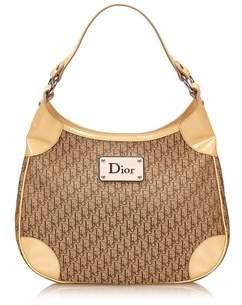 Dior Pre-owned: Jacquard Oblique Handbag.