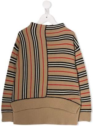 Burberry archive stripe jumper