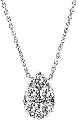 Women's Bony Levy Teardrop Diamond Pendant Necklace (Nordstrom Exclusive) $1,995 thestylecure.com