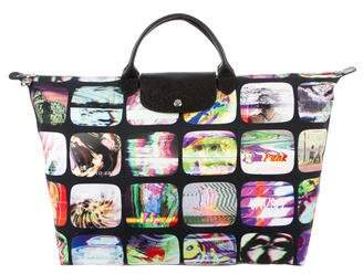 Jeremy Scott x Longchamp Le Pliage Travel Bag