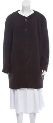 Gary Graham Wool Knee-Length Coat