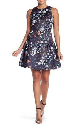 Ted Baker Kyoto Frill Side Skater Dress