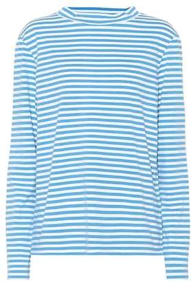MiH Jeans Emelie striped cotton top