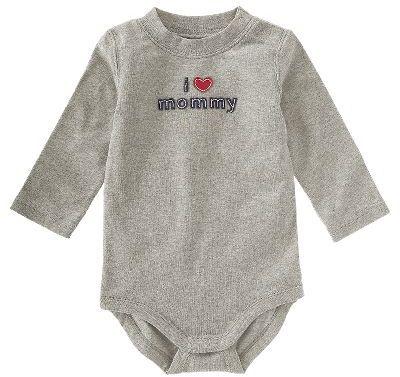 Gymboree I Heart Mommy Bodysuit
