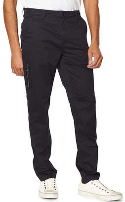 John Varvatos Men's Smithy Zip-Pocket Flight Pants