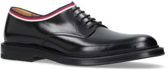 Gucci Beyond Web Trim Derby Shoes