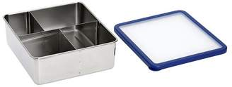 Pottery Barn Teen Stainless Steel Bento Box Lunch Container, Navy