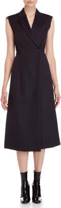 Maison Margiela Raw Edge Blazer Midi Dress