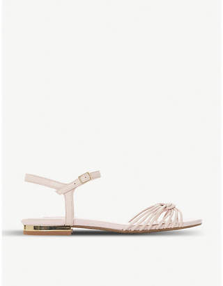 Dune Napa knotted leather sandals
