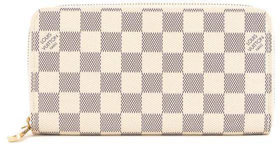 Louis VuittonLouis Vuitton Damier Azur Canvas Zippy Long Wallet (Pre Owned)