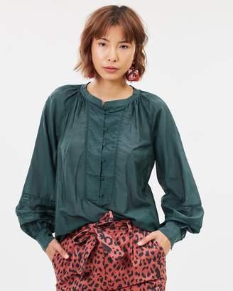 Maison Scotch Cotton Silk Tunic Top