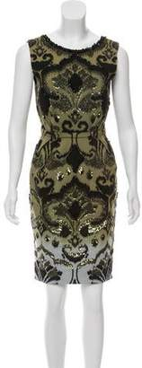 Matthew Williamson Embellished Sleeveless Dress