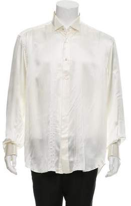 Stefano Ricci Silk French Cuff Shirt w/ Tags