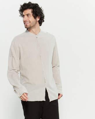 Poeme Bohemien Light Grey Long Sleeve Shirt